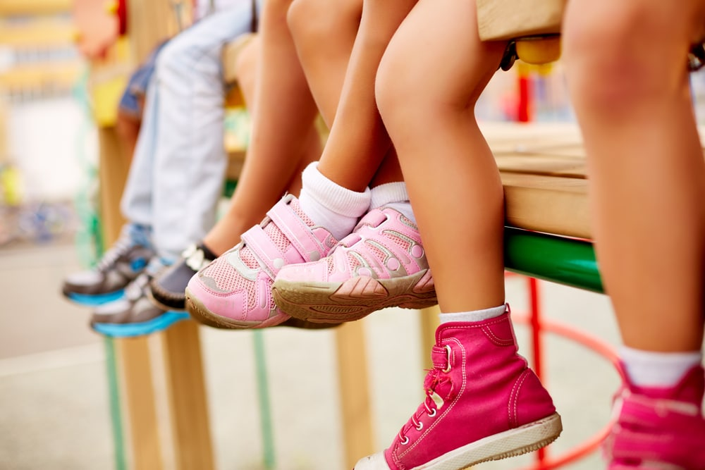 kids legs and feet