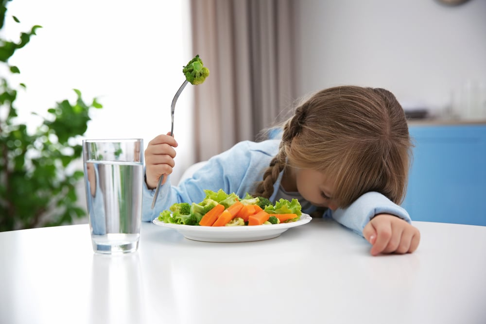 kid refuse to eat