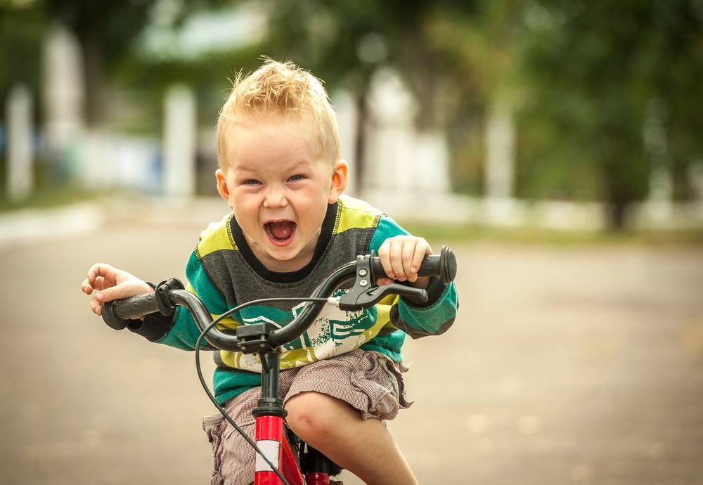 little boy bicycle