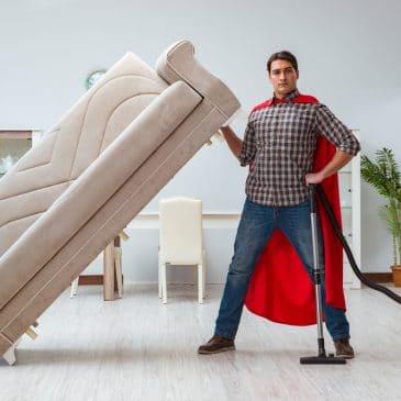 man superhero vacuum