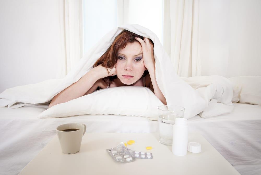 hangover woman