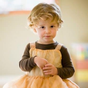 boy dressed as princess