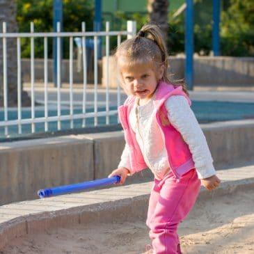 violent little girl
