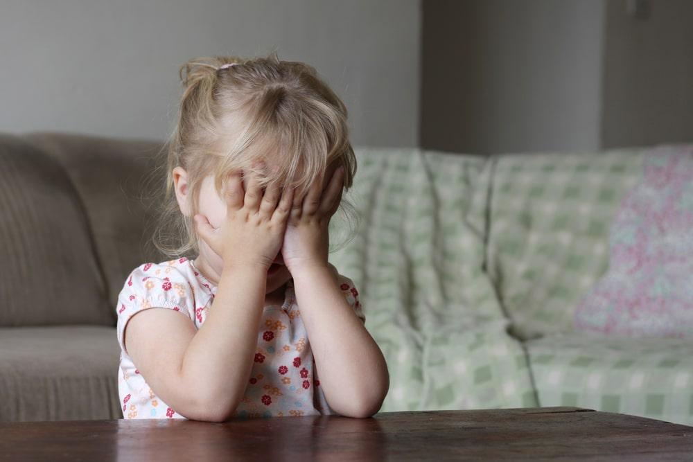 little girl shame