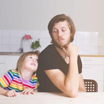 father ignoring daughter