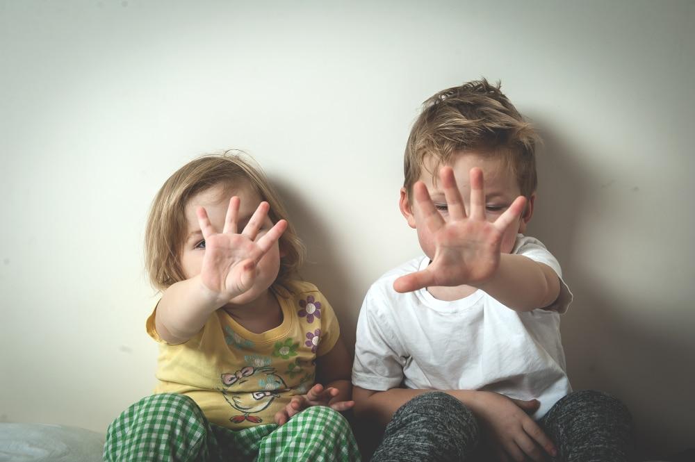 kids no gesture