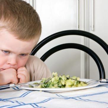 kid dislike vegetables