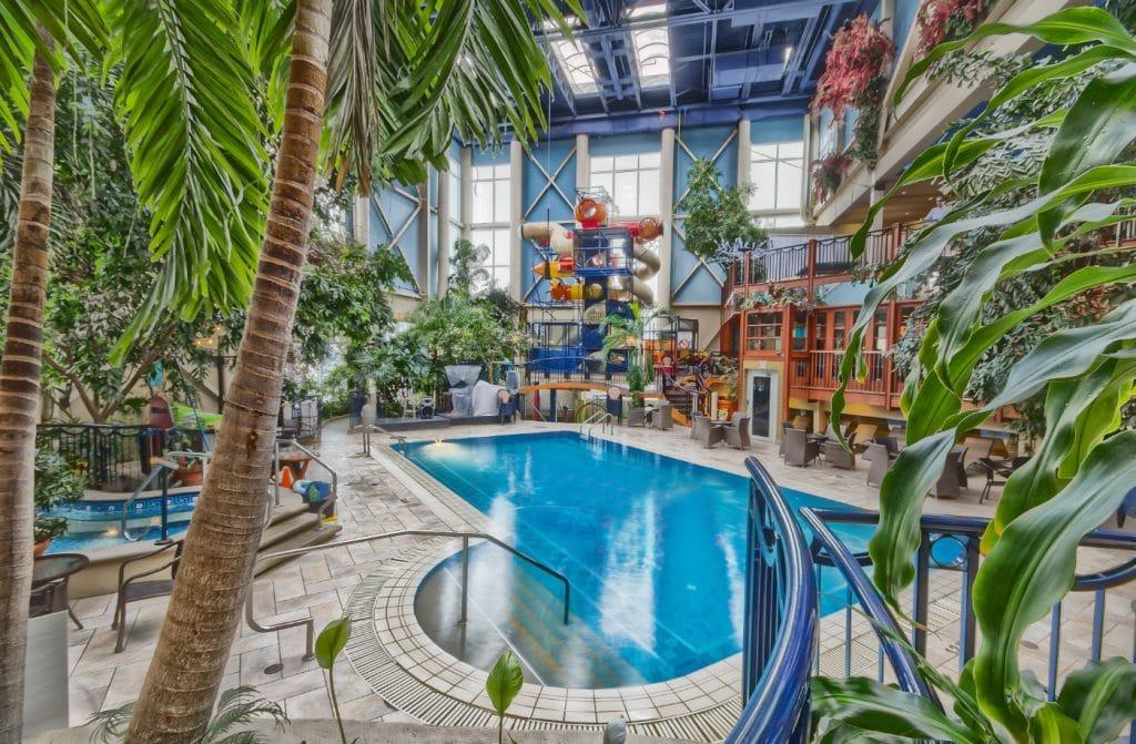 hotel jaro piscine