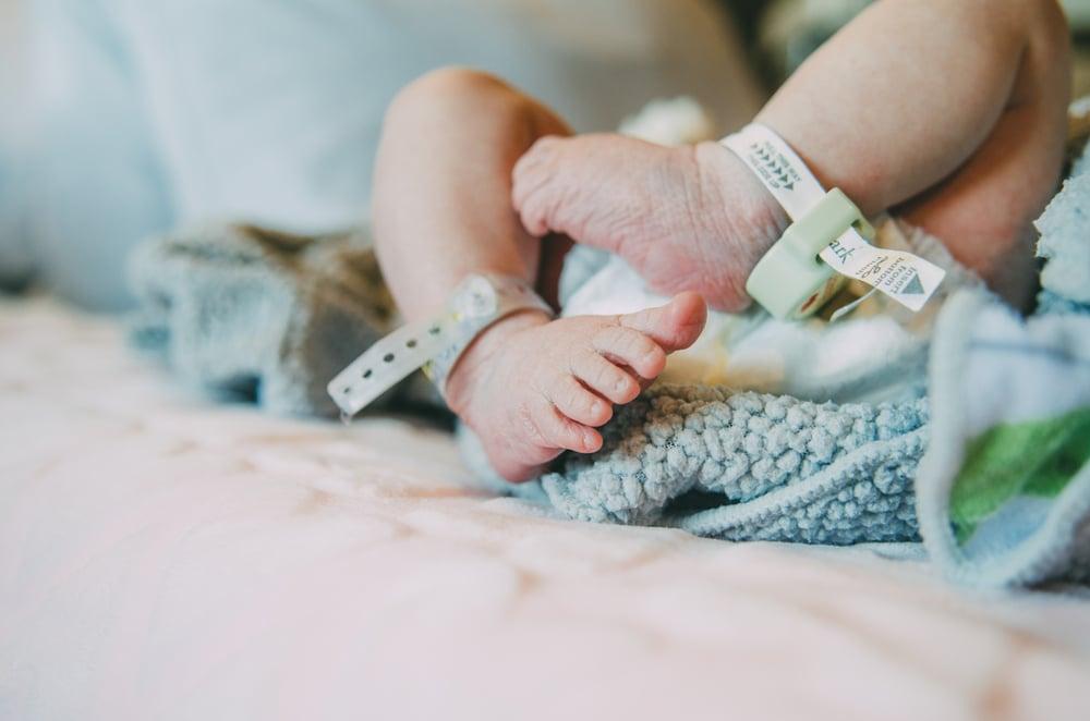 newborn at hospital