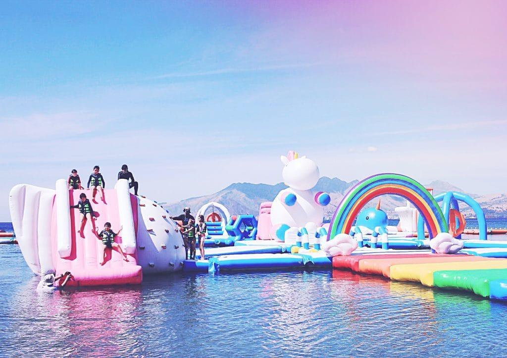 inflatable island 2