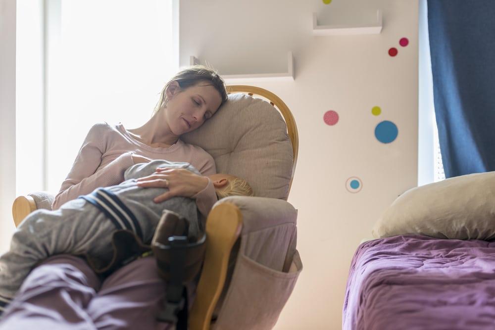 mother sleep
