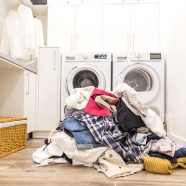 laundry mess