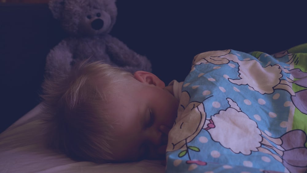 little kid sleep