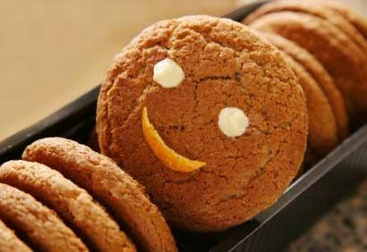 biscuit mélasse et gingembre