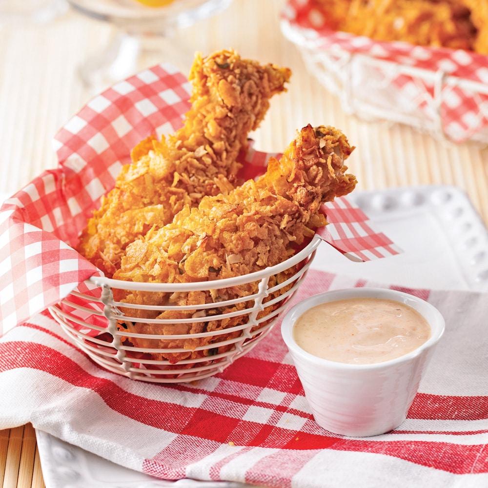 pilons-de-poulet-croustillants-sans-friture
