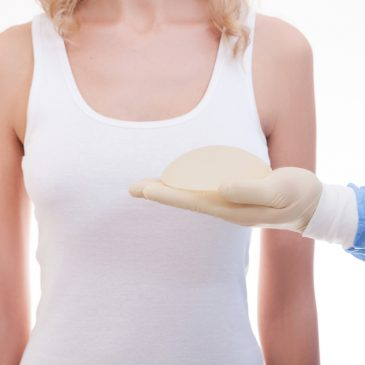 woman body breast surgery