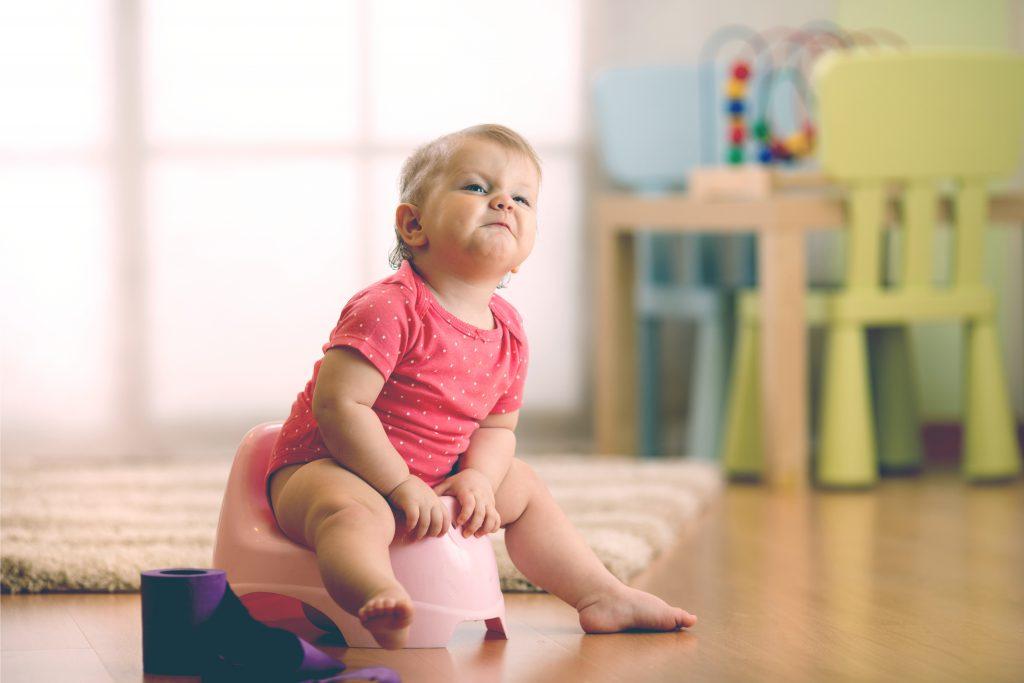little girl potty training