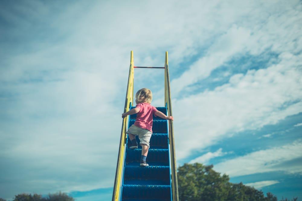 kid climb up