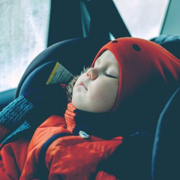 kid sleep in car