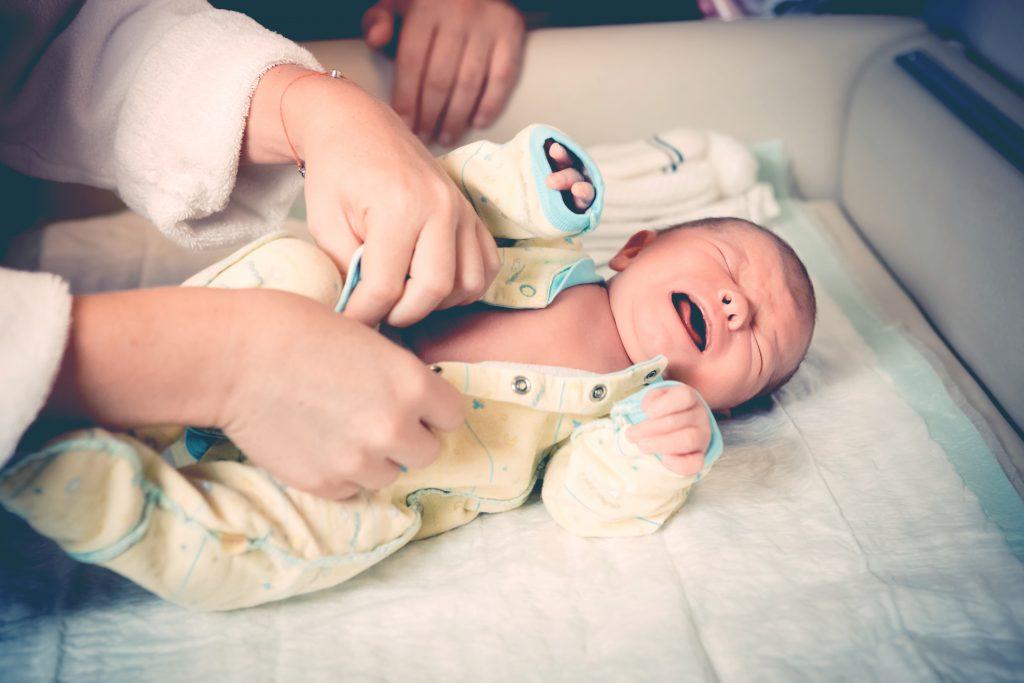 newborn cry