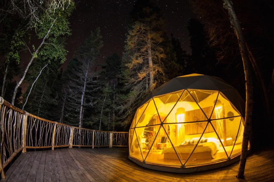 Dôme-Nuit cap jaseux