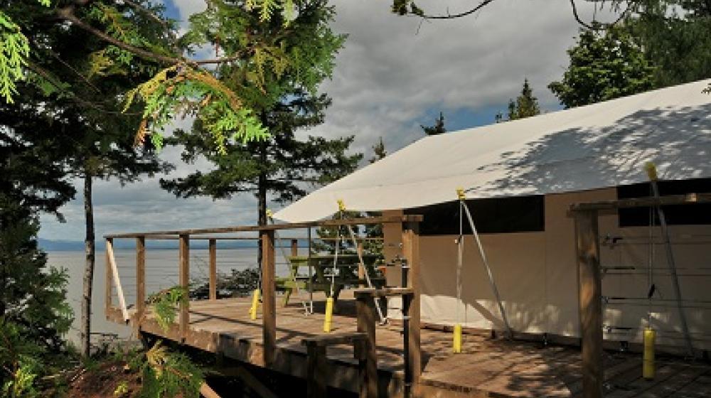 camping demi-lieu