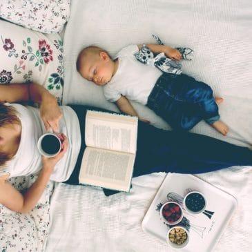 mom reading