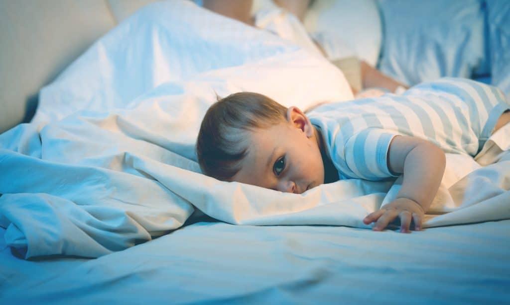 baby awake in night