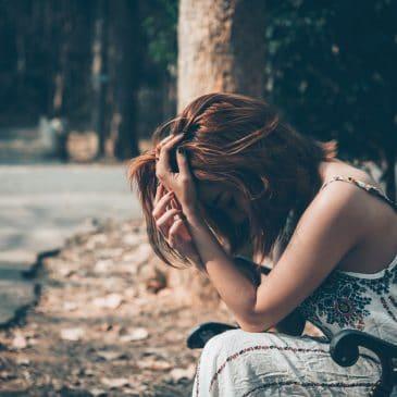 sad woman alone heartbreak concept