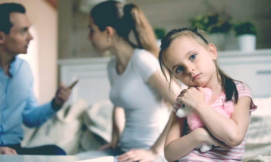 mother father angry sad kid