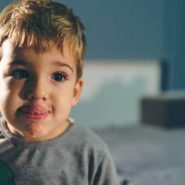 three years old boy