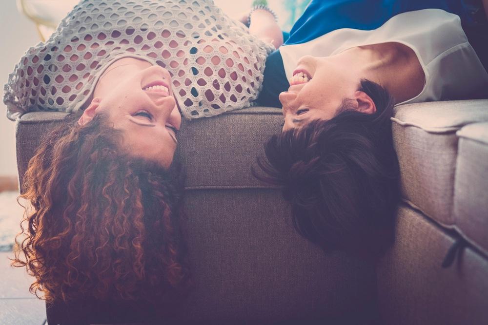 two women friendship concept