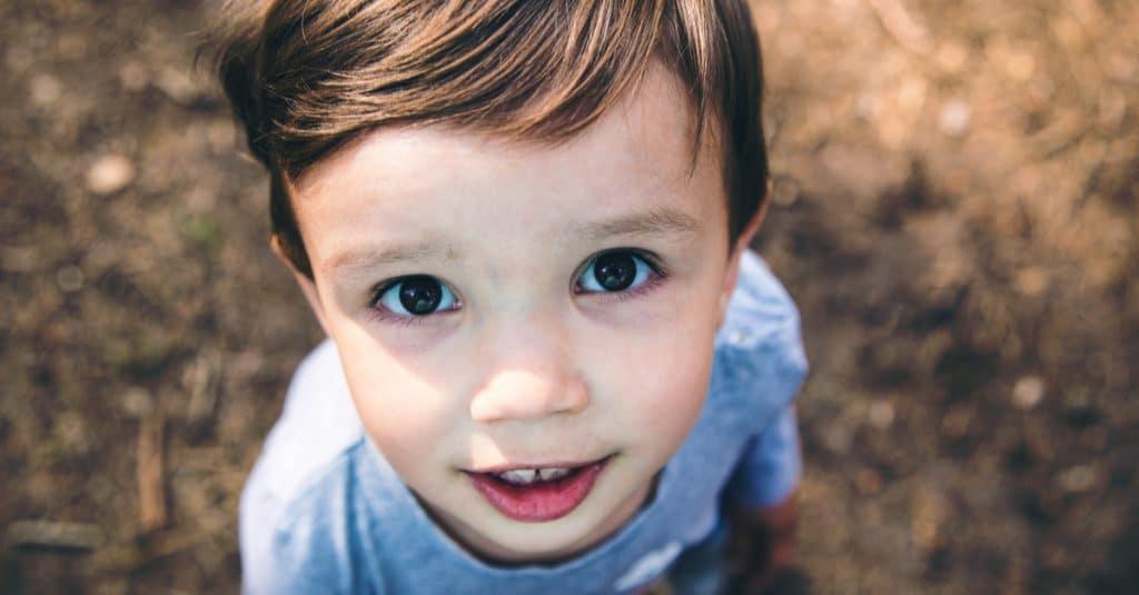 little boy face