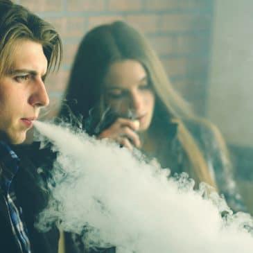 adolescents vapotage